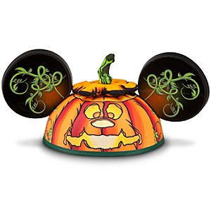 Jack OLantern Mickey Mouse Ear Hat