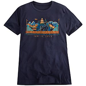 Limited Availability Commemorative Disney California Adventure Tee for Adults