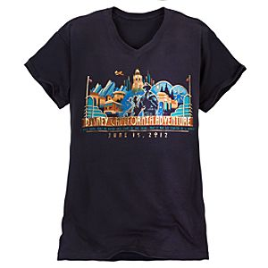Limited Availability Commemorative Disney California Adventure Tee for Women