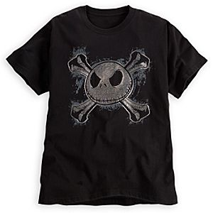 Jolly Roger Jack Skellington Tee for Men