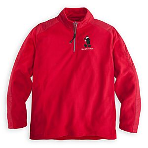 Mickey Mouse Fleece Pullover for Men - Holiday