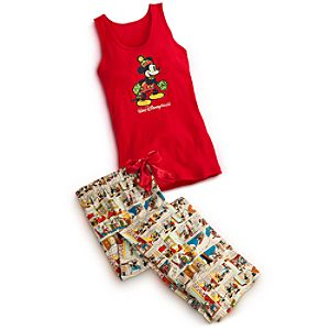 Mickey Mouse Sleepwear Set for Women - Walt Disney World