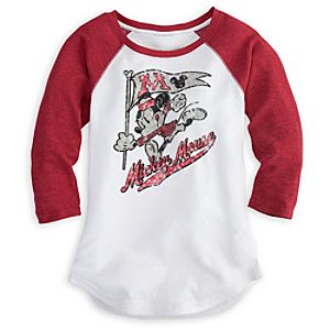 Mickey Mouse Thermal Tee for Women
