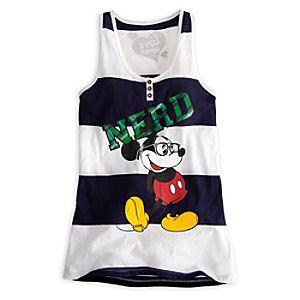 Mickey Mouse Tank Tee - Nerd