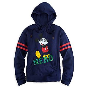 Mickey Mouse Hoodie Tee for Women