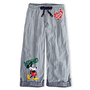 Mickey Mouse Loungepants for Women - Nerd