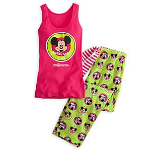 The Mickey Mouse Club Pajama Set for Women - Walt Disney World