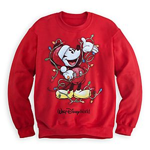 Mickey Mouse Sweatshirt for Adults - Holiday - Walt Disney World