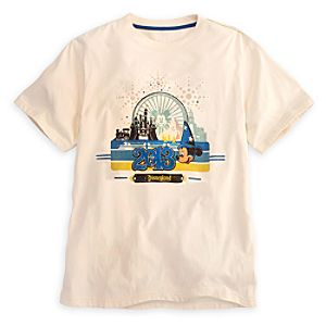 Sorcerer Mickey Mouse Tee for Men - Disneyland 2013