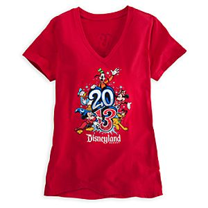Sorcerer Mickey Mouse Tee for Women - Disneyland 2013
