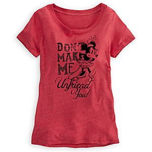 Minnie Mouse Tee for Woman