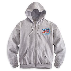 Sorcerer Mickey Mouse Hoodie for Adults - Disneyland 2013
