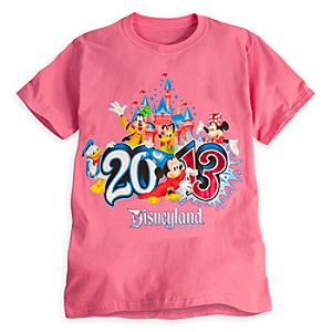 Sorcerer Mickey Mouse Tee for Adults - Disneyland 2013
