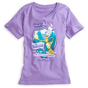 Lumiere Tee for Women - New Fantasyland Walt Disney World