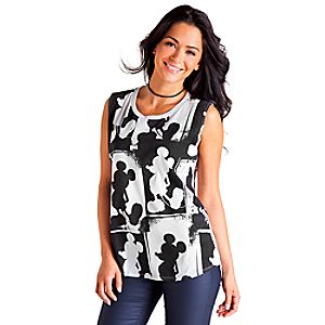 Mickey Mouse Sleeveless Tee for Women