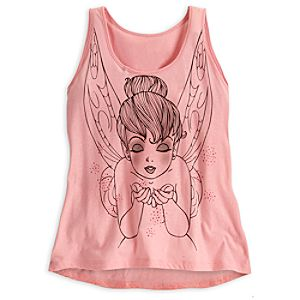 Tinker Bell Lace Tank Tee for Women