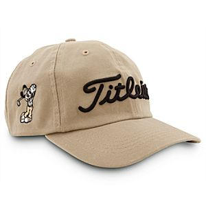 Mickey Mouse Titleist Baseball Hat for Adults - Tan