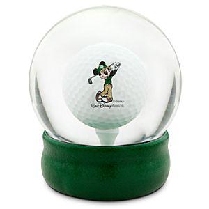 Mickey Mouse Golf Ball Water Globe - Walt Disney World