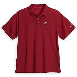 Mickey Mouse Polo Shirt for Men by Nike Golf - Red