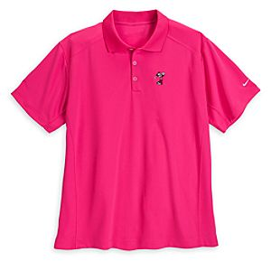 Mickey Mouse Polo Shirt for Men by Nike Golf - Pink