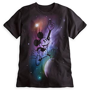 Mickey Mouse Space Tee for Adults