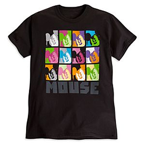 Mickey Mouse Pop Art Tee for Adults