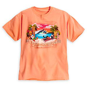 ''Takin' a Tiki Break'' Tee  for Adults - Walt Disney World