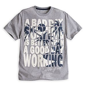 Mickey Mouse Text Tee - Walt Disney World