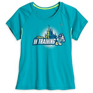 "Mickey Mouse ""In Training"" Performance Tee for Women - RunDisney"