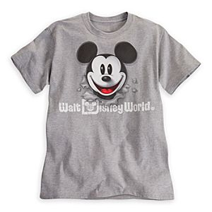 Mickey Mouse Peek-A-Boo Tee for Women - Walt Disney World