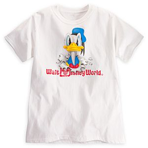 Donald Duck Peek-A-Boo Tee for Adults - Walt Disney World
