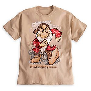 Grumpy Letters Tee for Adults - Walt Disney World