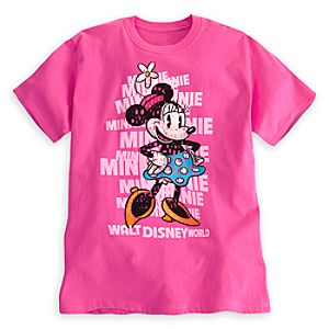 Minnie Mouse Letters Tee for Adults - Walt Disney World