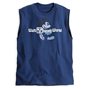 Mickey Mouse Sleeveless Tee for Adults - Walt Disney World