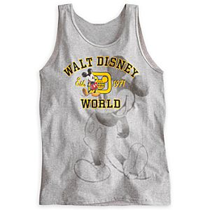 Mickey Mouse Tank Tee for Adults - Walt Disney World