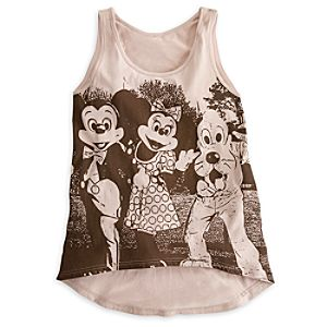 Mickey Mouse and Friends Tank Tee for Women - Disney Parks