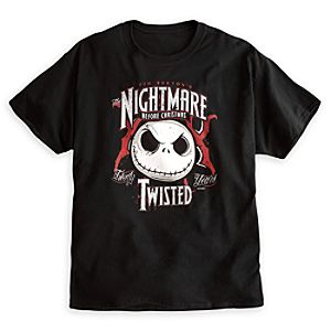 Tim Burtons The Nightmare Before Christmas 20th Anniversary Tee for Adults