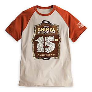 Disneys Animal Kingdom Raglan Tee for Adults - 15th Anniversary