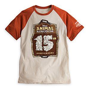 Disneys Animal Kingdom Raglan Tee for Adults - 15th Anniversary