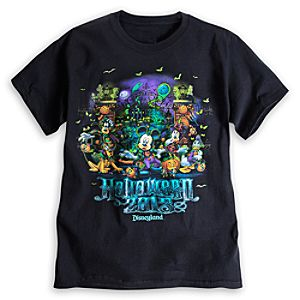 Mickey Mouse and Friends Tee for Adults - Disneyland - Halloween 2013