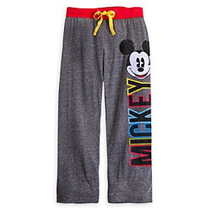 Mickey Mouse Color Fusion Pants for Women