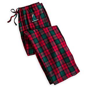 Santa Mickey Mouse Lounge Pants for Adults - Walt Disney World