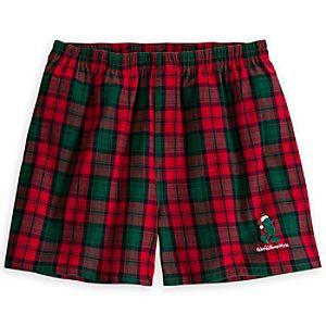 Santa Mickey Mouse Boxer Shorts for Men - Walt Disney World