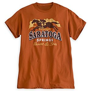 Disneys Saratoga Springs Resort & Spa Tee for Adults - Limited Availability