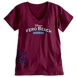 Disneys Vero Beach Resort Tee for Women - Limited Availability