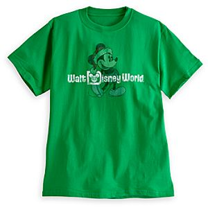 Santa Mickey Mouse Tee for Adults - Walt Disney World