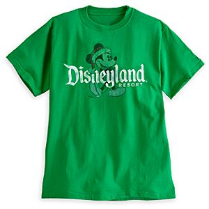 Santa Mickey Mouse Tee for Adults - Disneyland