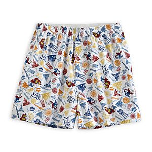 Sorcerer Mickey Mouse Boxer Shorts for Men - Disney Parks 2014
