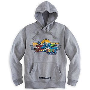 Sorcerer Mickey Mouse Hoodie for Men - Walt Disney World 2014