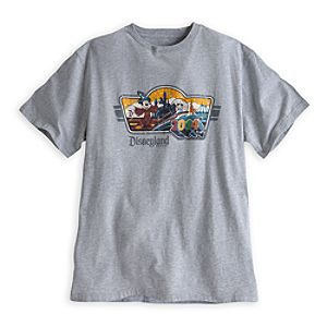Sorcerer Mickey Mouse Tee for Men - Disneyland 2014